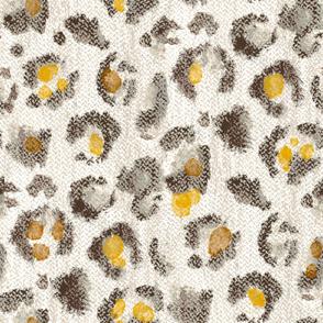 Cheetah pastel