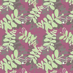 Green and Mauve Forest-01