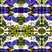 Hummingbird Abstract Pattern