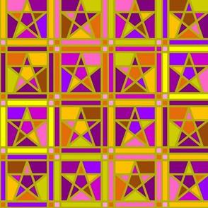 Mosaic Stars Tutti Frutti