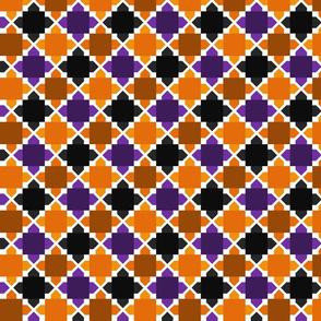Two Tone Tiles Halloween