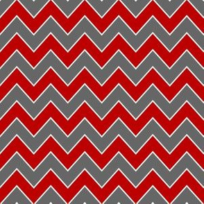 ohio state chevron - red and grey chevron, sports, sports team, college football, football