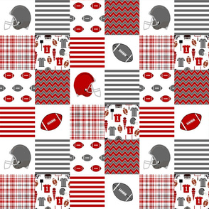 "ohio state quilt - 3"" squares, ohio state, college football, football, sport, sports"