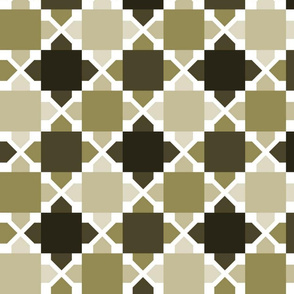 Two Tone Tiles Taupe MED