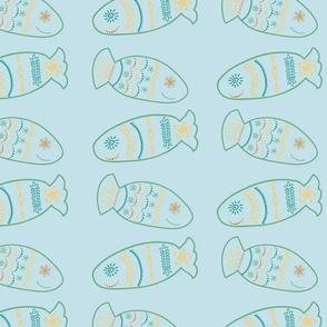 Happy Fish Rows