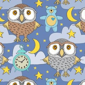 bedtime boy owls