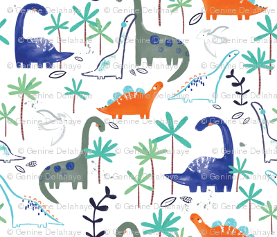 Rrrrrrrspoonflower_dino_forest_gd-01_preview
