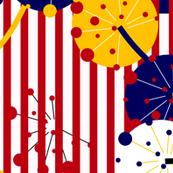 Color-Blocking Dandelions Kreativkollektiv