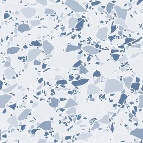 Natural Blue Terrazzo