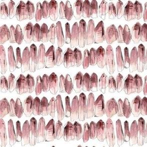 Watercolour Crystals - Rose Quartz - smaller