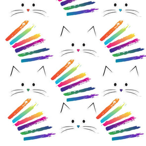 Spoonflower-Cats