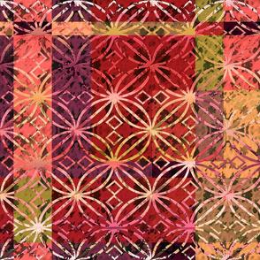 color block floral 6