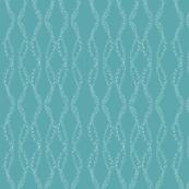 whimsical dots (aqua)