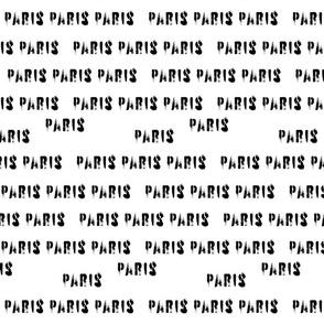 Paris - ganz in weiß...