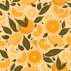 Vintage Citrus Fruits