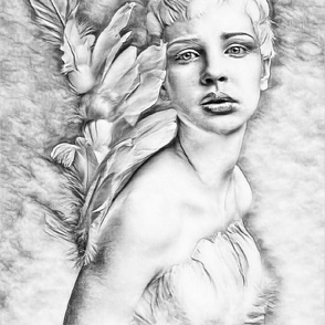 FORMING WINGS OF AN ANGEL