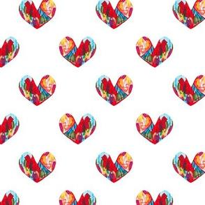 A Little Boy's Hand-Drawn Heart