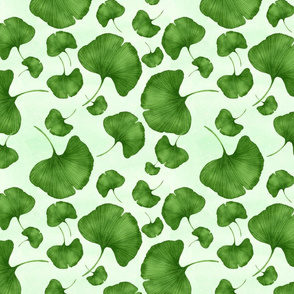 Ginkgo in green