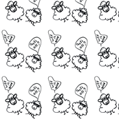 Seamless pattern cute ships