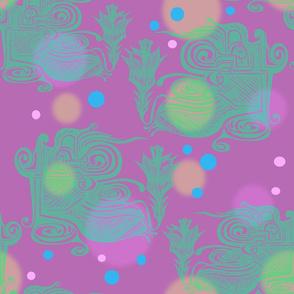 Soft Pink DigiFloral