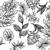 Hand drawn pattern