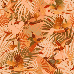 Summery Paradise Birds