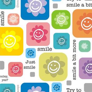Smile Flower Face | Carita floreada sonreída