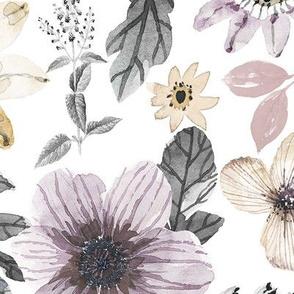 Large // Antique Florals