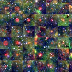 Spitzer Galactic Bubbles