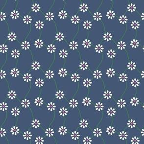 Tiny Summer Flowers / Secondary / Brick