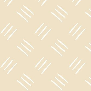 mudcloth freehand checkerplate - sand
