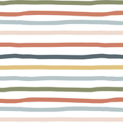Multicolor Wonky Stripes