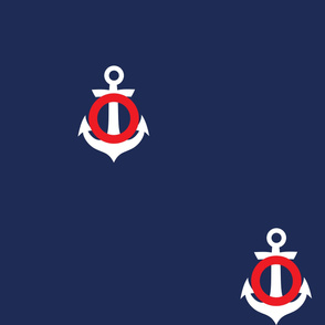 nautical themed pattern