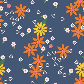 Flower Games Transition / Blue