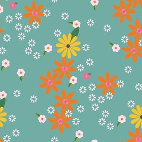 Flower Games Transition / Aqua