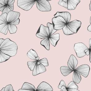ink flowers pale pink