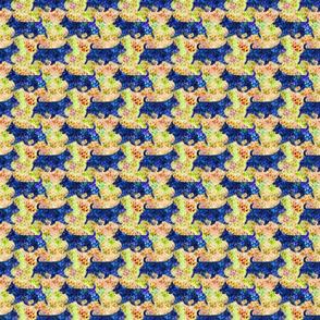 Cosmic Trotting Australian Terriers - day
