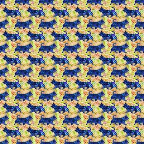 Cosmic Trotting undocked Australian Terriers - day
