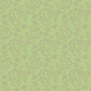 old damask green