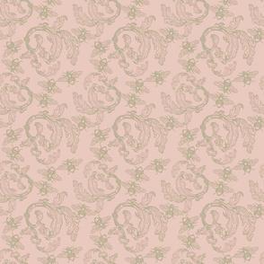 old damask pink
