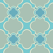Marocco (Spa II) 9inch Repeat, David Rose Designs
