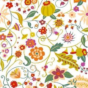 Floral ramage_ZZ191