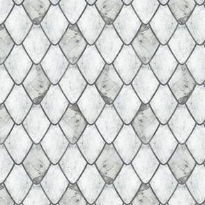 Arctic Marble Gemstone Dragon Scales