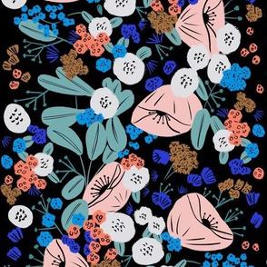 Gouache florals