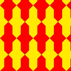 Counter-vairy Or and gules