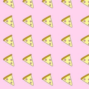Pastel Pink Pizza