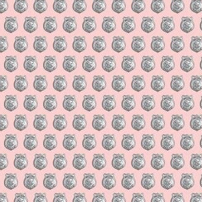 "(1/2"" scale) police badge pink C19BS"