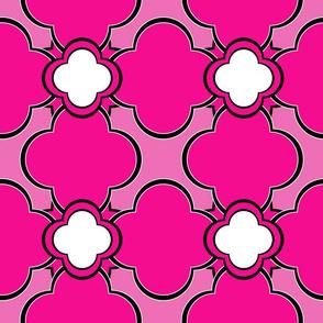 Marocco (Pink) 9inch Repeat, David Rose Designs