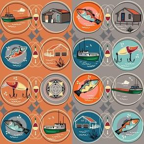 Fishtown Tugboat - Nautical Retreat by clarkyworks