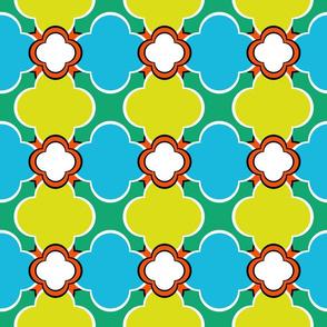 Morocco (Spring) 6inch Repeat, David Rose Designs